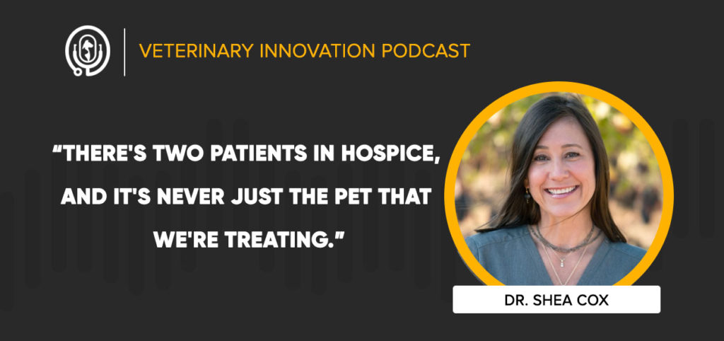 Dr. Shea Cox on the Veterinary Innovation Podcast
