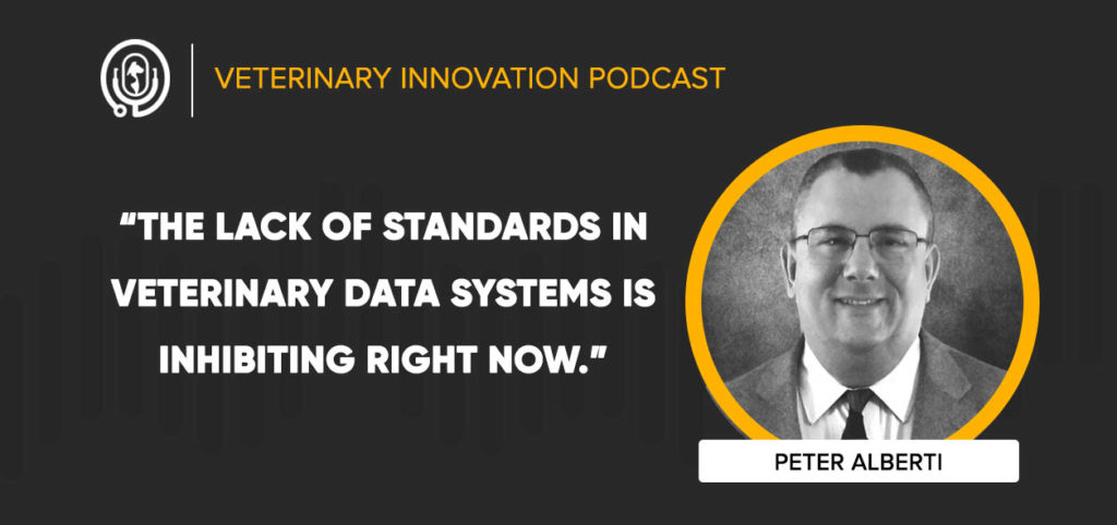 Peter Alberti on the Veterinary Innovation Podcast